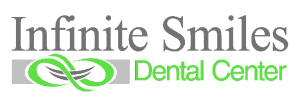 The logo of Infinite Smiles Dental Center in Crestwood, Kentucky